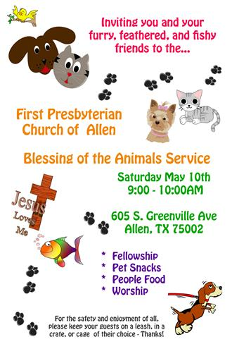 Blessing of the Animals Poster