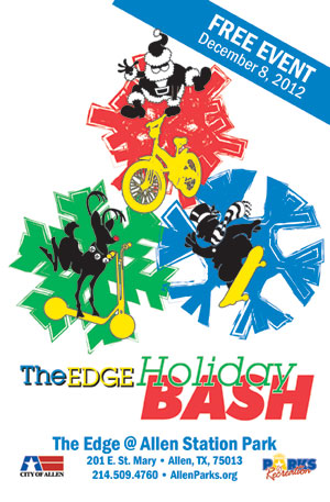 The Edge Holiday Bash - December 8