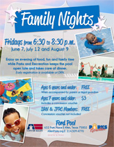 Family Night at Ford Pool