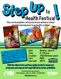 Step Up To Health Festival - June 10