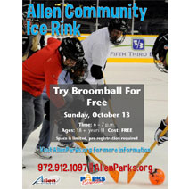 Try Broomball for Free - October 13