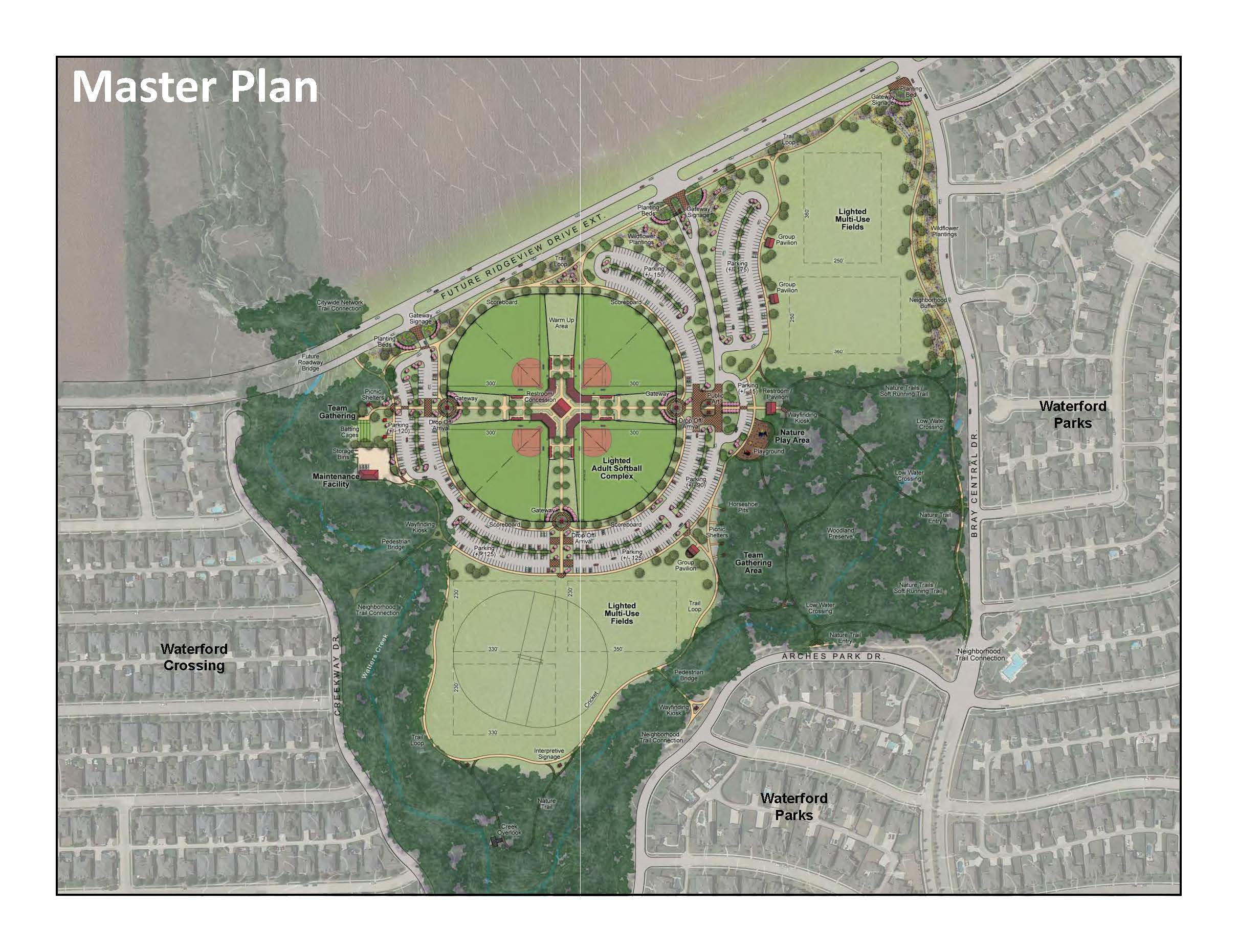 Watters Branch Community Park Master Plan