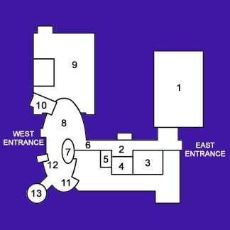 map first floor