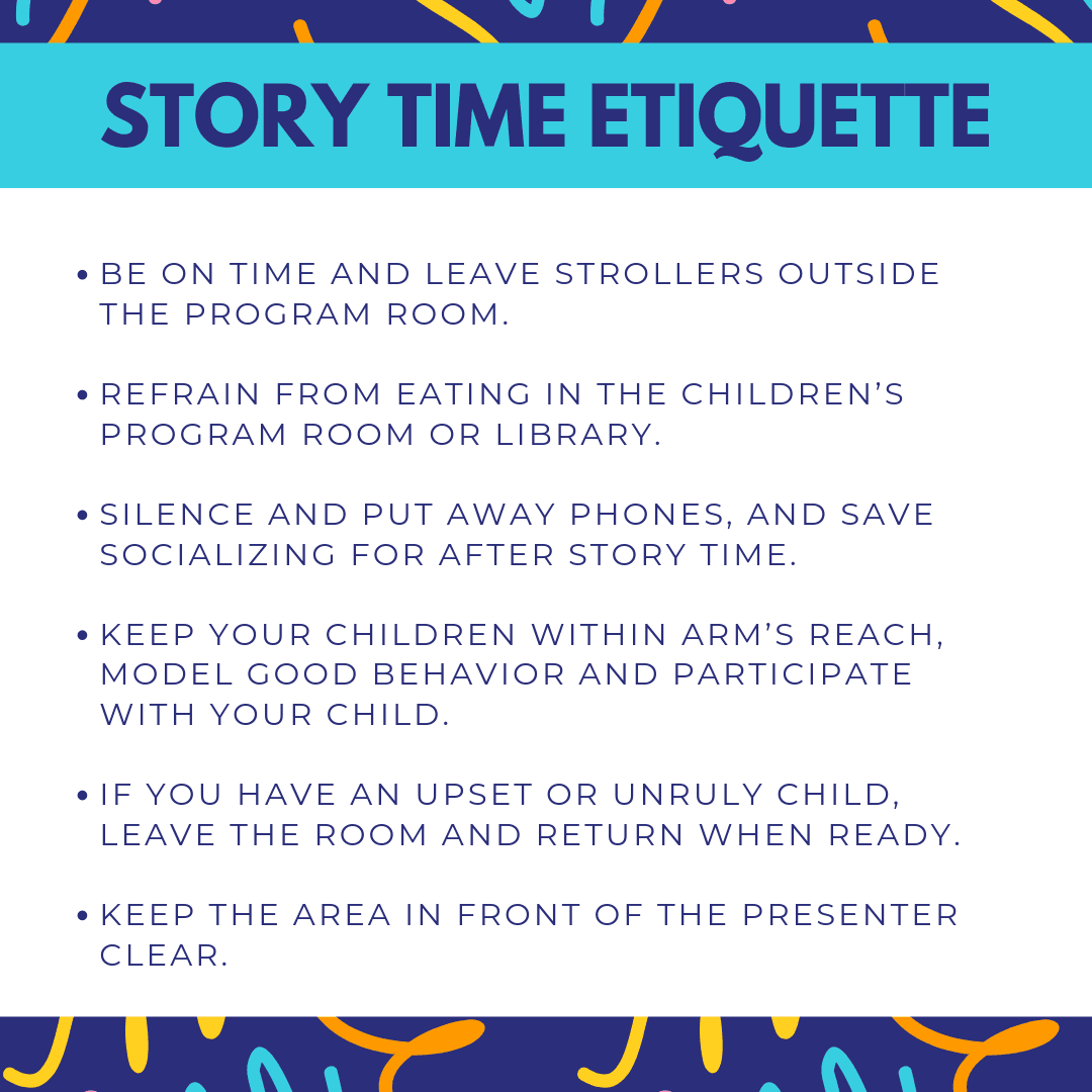 Story Time Etiquette