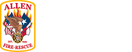 Allen Fire Department logo