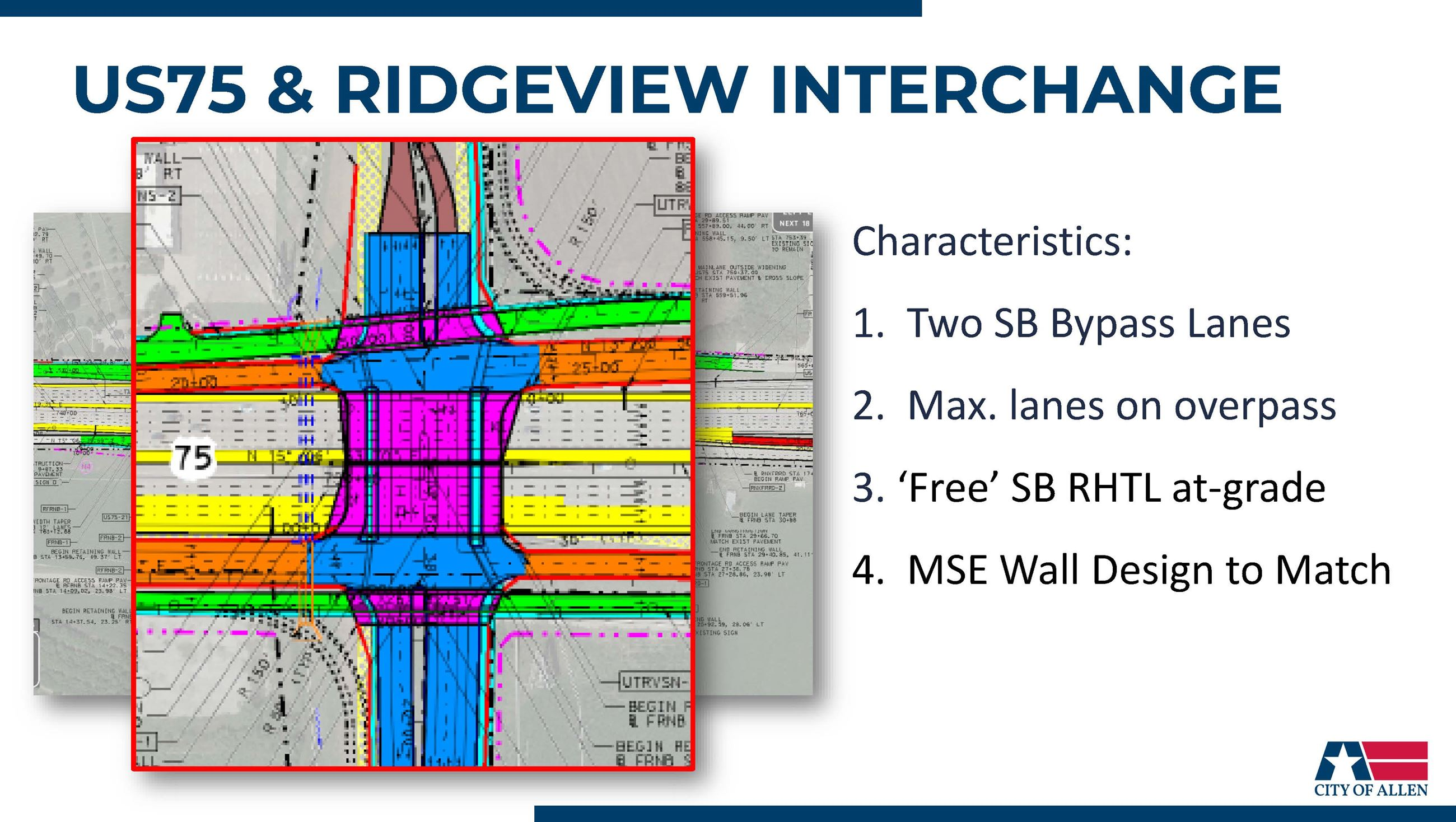 US 75 Ridgeview Interchange