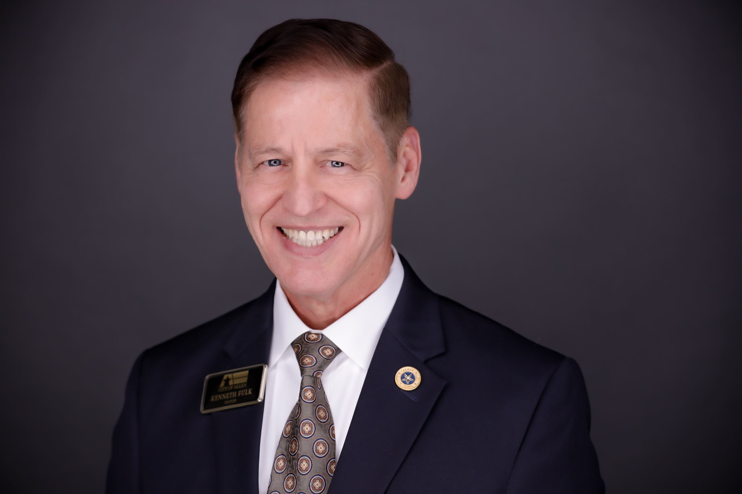 headshot of Allen Mayor Ken Fulk