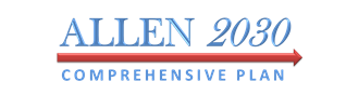 Allen 2030 Comprehensive Plan logo