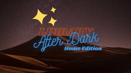 Logo: Library After Dark Home Edition