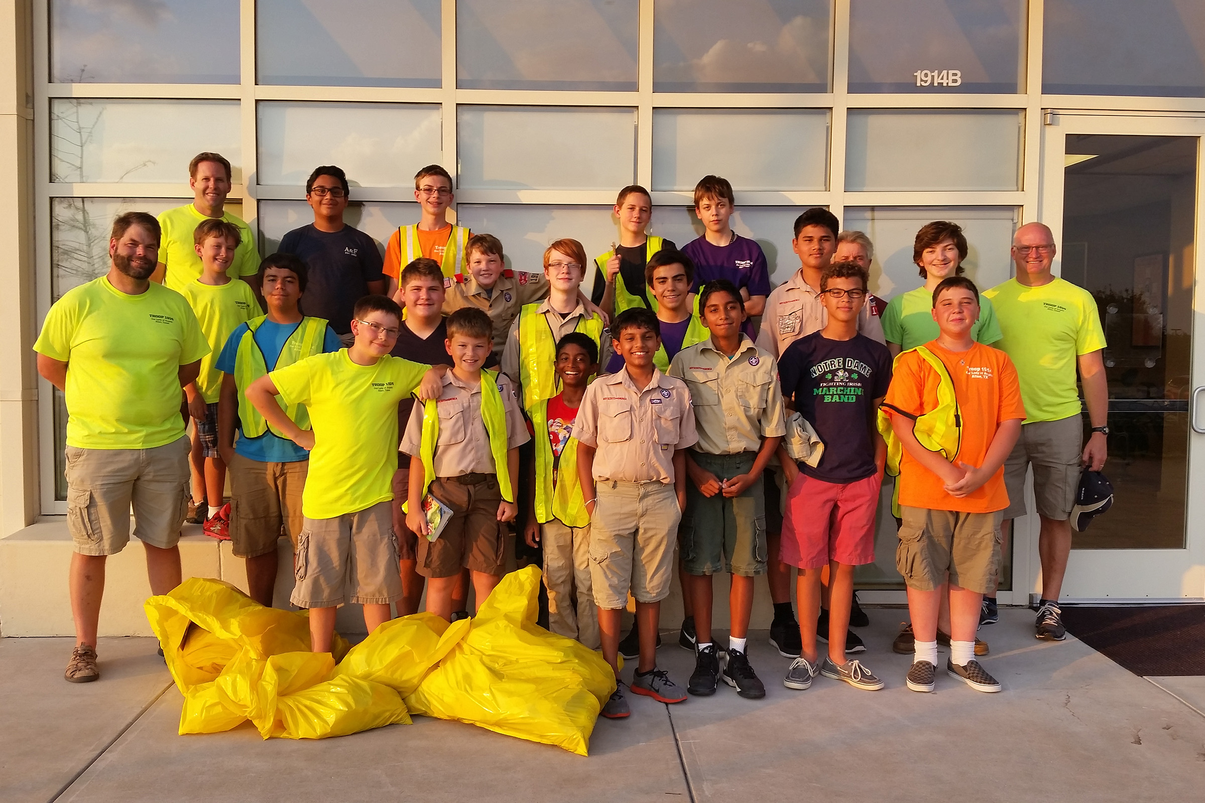 Keep Allen Beautiful Scouting Projects